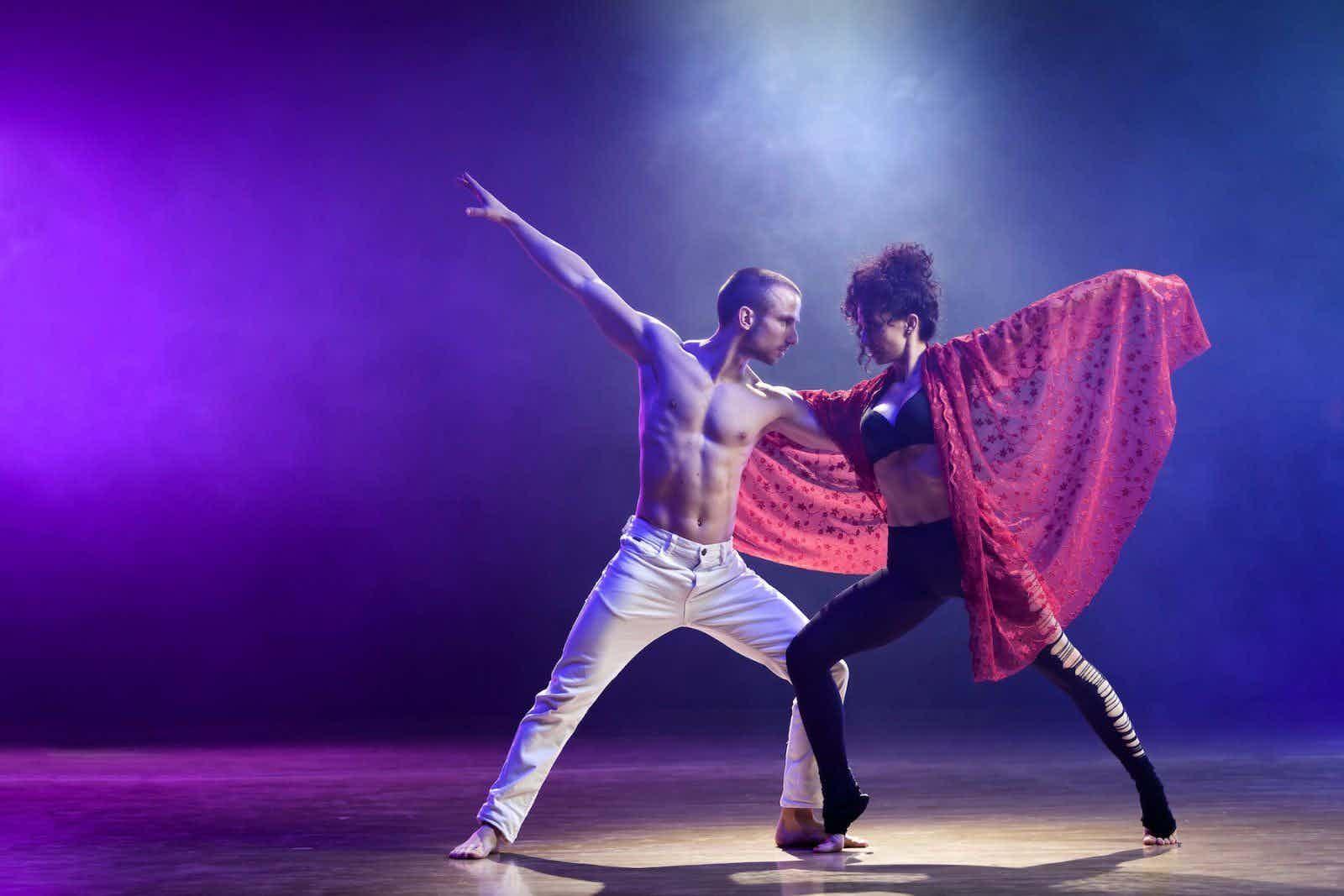 dansshow duo