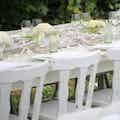 decoratie white party
