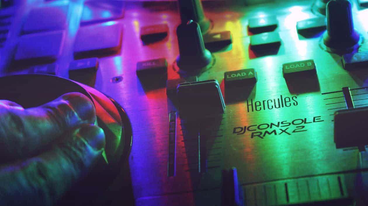 dj-mixer-lichtjes