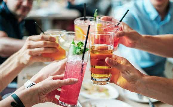 drank arrangement voor feest