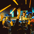 drummende dj elektronische drummer drumbeat