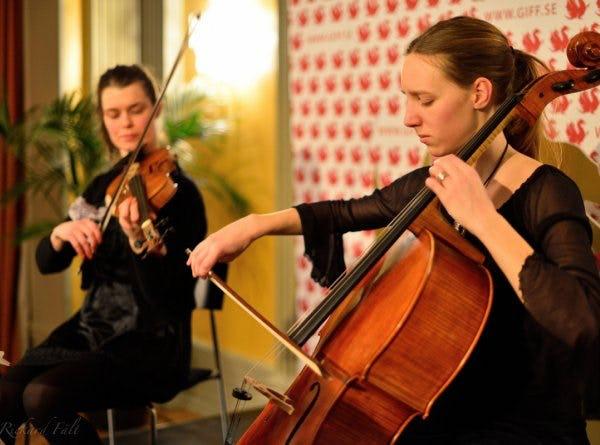 Karin och Hanna Gbg filmfestival Foto Rickard Fält