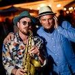 Boka profesionell duo Saxofon DJ