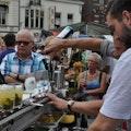 cocktail shaker inhuren beurs
