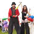Greatest show stilt & juggle