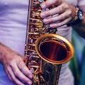 Saxophonist James