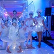winter themed dancers for hire