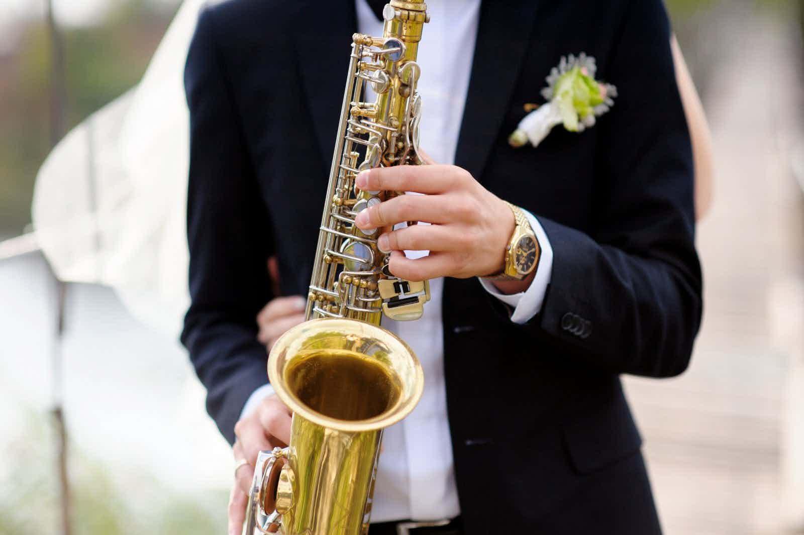 sax-op-bruiloft